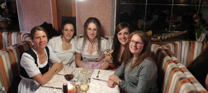 Cäciliafeier 2015 der Musikkapelle Huben